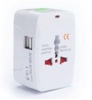 Oxza Universal Worldwide Adaptor(White)