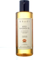 KHADI Body Massage Oil with Jojoba- Herbal & Ayurvedic- 210 ml(210 ml)