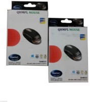 Quantum QHM 222 Wired Optical Mouse(USB, Black)