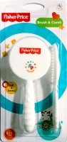 Fisher-Price UltraCare Baby Hairbrush and Comb Set for Newborns and Toddlers