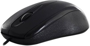 OYD QHM232 Wired Wired Optical Mouse(USB, Black)