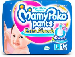 MamyPoko Diapers - L(13 Pieces)