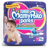 MamyPoko Diapers - M(15 Pieces)