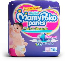 MamyPoko Diapers - XL(15 Pieces)