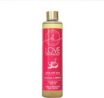 LOVE ORGANICALLY Organic Cold Pressed Coconut & Hibiscus Hair Oil For nourishing & Natural Hair Strengthening - Specially Designed With Your Little Ones Well-being in mind Hair Oil(225 ml)