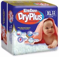 Xtracare Dryplus Baby Diapers - XL(32 Pieces)