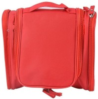 311af037a224 Styleys Red Toiletry Bag Travel Toiletry Kit(Red)