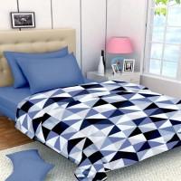 ASOKAM Checkered Single Dohar Multicolor