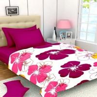 ASOKAM Floral Single Dohar Multicolor