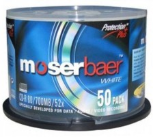 Moserbaer CD Rewritable 700 MB