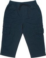 C.U.B. Short For Boys Casual Solid Cotton(Dark Blue, Pack of 1)