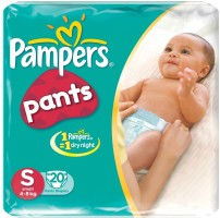 Pampers Diapers - S(20 Pieces)