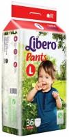Libero L (4 x 36's) Pant diapers - L(36 Pieces)