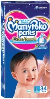 MamyPoko Mamy PokoPant Style Large Size Diapers - 34 Pcs (9-14 kgs) - L(34 Pieces)