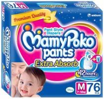 MamyPoko MamyPoko Pants Medium - 76 Pcs(7 - 12kgs) - M(76 Pieces)