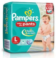 Pampers diapers - L(38 Pieces)