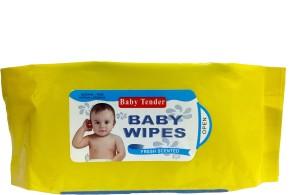 fostilo BABY TENDER BABY WIPES(80 Pieces)