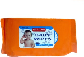 fostilo BABY TENDER BABY CLEANSING WIPES(80 Pieces)