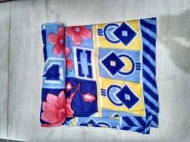 100 trusted Floral Single Blanket Blue(1 BLANKET)