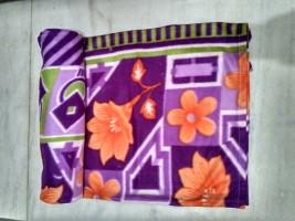 100 trusted Floral Single Blanket Purple(1 BLANKET)