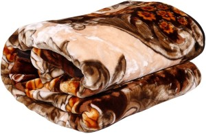 Creative Terry Printed Double Blanket Multicolor(1 Double Blanket)