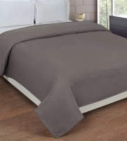Cozyland Plain Single Blanket Grey(Fleece Blanket, 1)