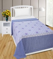 Zain Cotton Printed Single Bedsheet(1 Single Bed Sheet, Multicolor)
