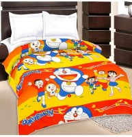 PRINCE CREATION Cartoon Single Blanket Multicolor(AC Blanket)