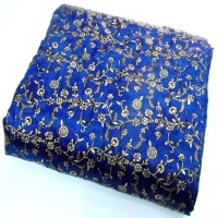 ASOKAM Floral Single Quilt Blue