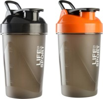 e3daecd165 S.Blaze Amazing Combo of 2, 500ml Protein Shaker / Sipper / Gym Bottle
