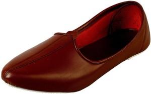 af9ad67fa74c Vision Art   Craft Men s Brown Jalsa Traditional Leather jutti Mojari Jutis  For Men(Brown