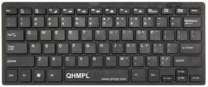 Quantum QHM7307 MINI MULTIMEDIA KEYBOARD Wired USB Laptop Keyboard(Black)