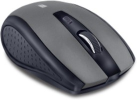 Iball FREEGO G18 Wireless Optical Gaming Mouse(Bluetooth, Dark Silver, Full Black)