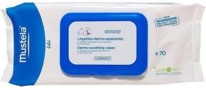 Mustela Dermo-Soothing Wipes - 7Opc(70 Pieces)