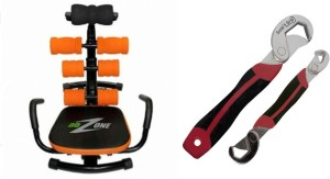 Telebrands Ab Zone Flex With Snap N Grip Ab Exerciser