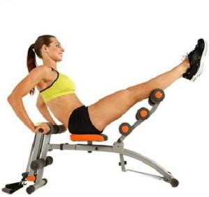 Ibs abrocket twister home gym heavy duty six pack abs zone flex