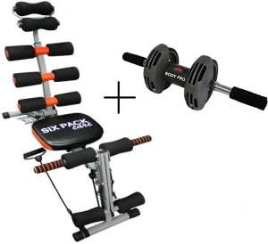IBS Sixpackabs Rocket Twister Abrockettwister Six Packs Wonder Core Zone Flex Care Home Fitness Pump Gym Sixpack Cruncher Pack Body Builder WITH Bodi pro roller Ab Exerciser