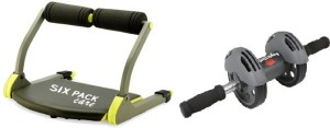 MSE Combo of Six Pacs Abs bulder & Power Slider-122 Ab Exerciser