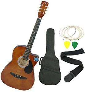 Jixing DD 380C BRN Linden Wood Acoustic Guitar