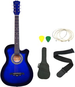 Zabel ZBL ETR BLU C Linden Wood Acoustic Guitar
