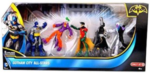 19f1b86578b3 Gift World Gotham City All Star Batman Robin Joker Two-Face Loose Action  FigureMulticolor