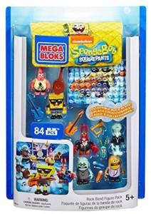 Mega Bloks Spongebob Rock Band Pack