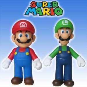 super mario brothers 5 mario luigi set nintendo banpresto multicolor