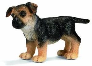 Schleich German Shepherd PuppyMulticolor