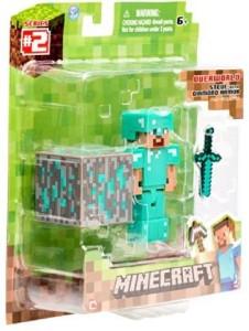Minecraft Diamond Steve ( Multicolor )