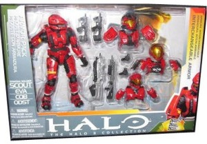 Mcfarlane Halo Toys Deluxe Action Figure Boxed Scout Armor PackMulticolor