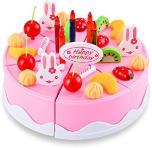Arshiner Laugh Learn Say Please Magical Tea Set Rainbow Cake54 Pcs