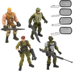 Toys R Us True Heroes Sentinel One Action Figure 4 Pack - Wolf, Ghost,  Smash And JumpstartMulticolor