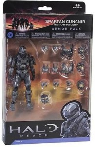 McFarlane Toys Halo Reach Series 5 Armor Pack Spartan Gungnir 3  SetsMulticolor
