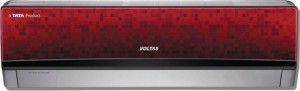 Voltas 1 Ton 5 Star BEE Rating 2017 Split AC    Red